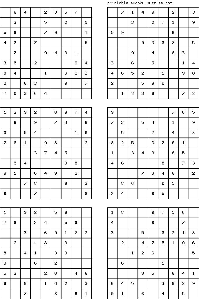 Imprimir Sudokus Para Ninos Sudoku Sudoku Puzzles Maths Puzzles