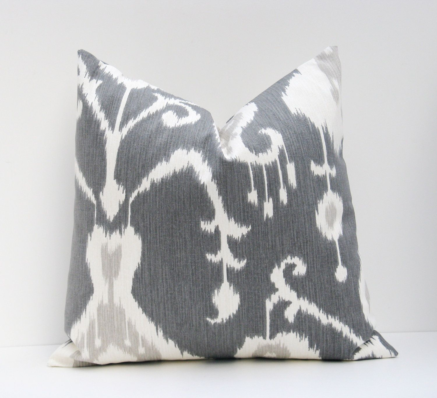 pin bree ivy grey knit ink cover euro pillow covers charcoal