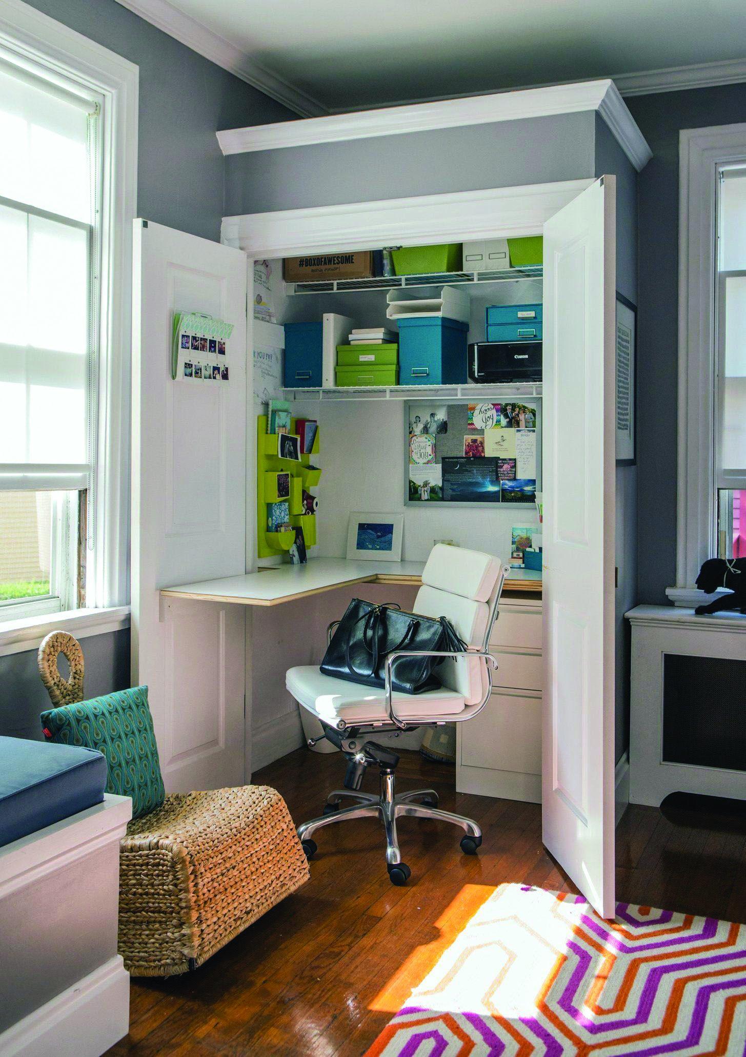 Small Office 10 Large Concept Ideas Home Office Design Closet Desk Closet Office