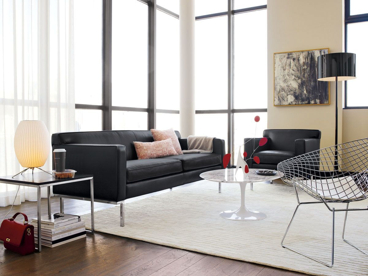 Theatre Sofa And Armchair #dwr #living_room #dwr_Living_Room_Sale