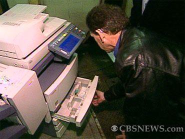 Digital Photocopiers (since 2002) Loaded With Secrets - Users Beware