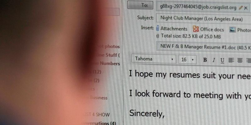 Craigslist Resumes The Cover Letter A Short History Of Every Jobseeker's Greatest