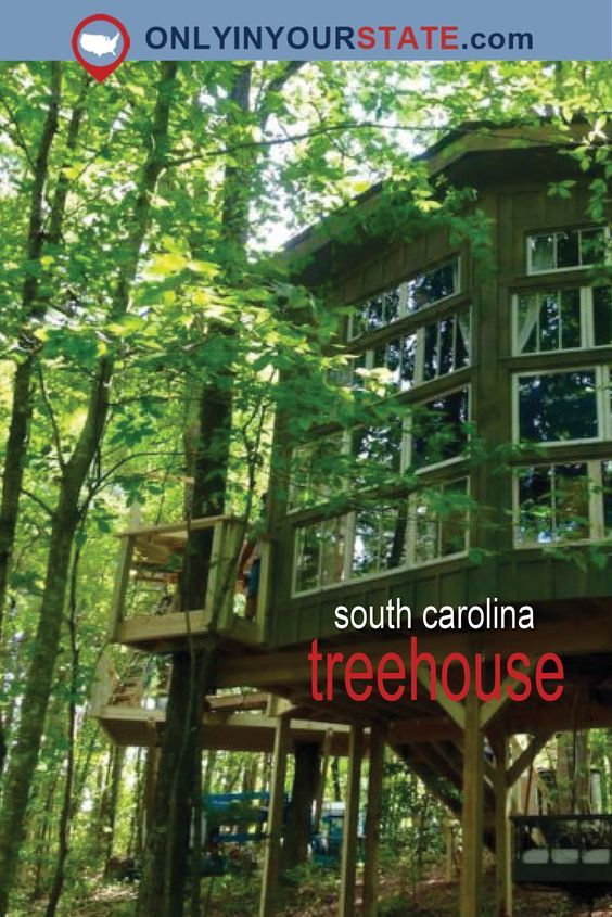 Sleep Underneath The Forest Canopy At This Epic Treehouse In South Carolina & Sleep Underneath The Forest Canopy At This Epic Treehouse In South ...