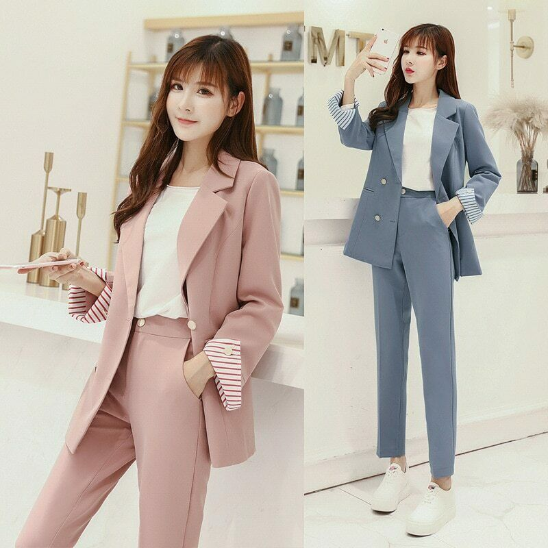 Pant Suits Fashionable Female Suit Photos