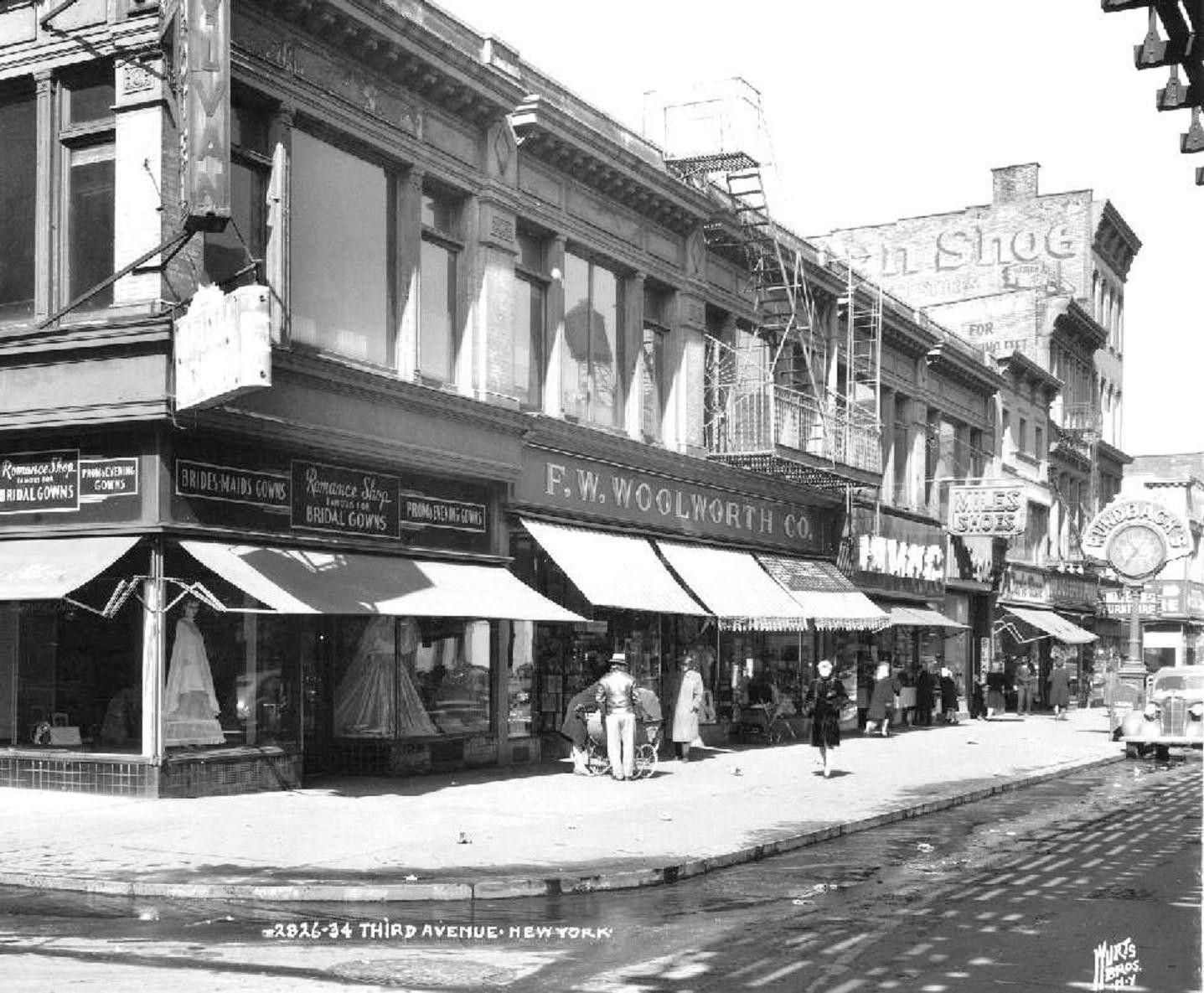 3rd Avenue At 149th Street , Woolworth's, Just A Corner Of