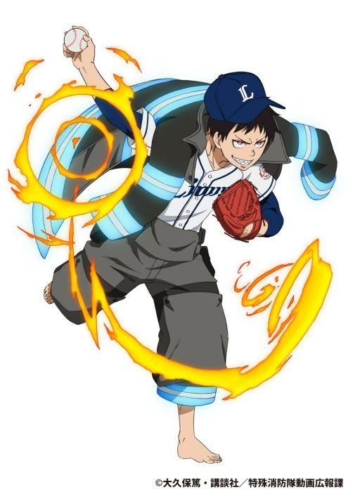 Fire Force Episode 19 Vostfr : force, episode, vostfr, Force, Ideas, Fire,, Shinra, Kusakabe,