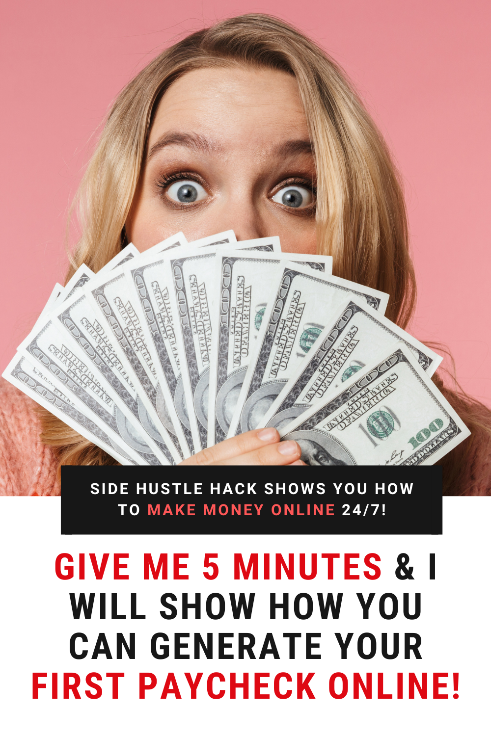 Give Me 5 Minutes I Will Show How You Can Generate Your First Paycheck Online Give It To Me Paycheck This Or That Questions