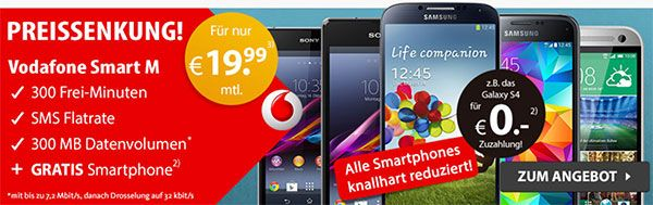 Vodafone Tarif Smart M