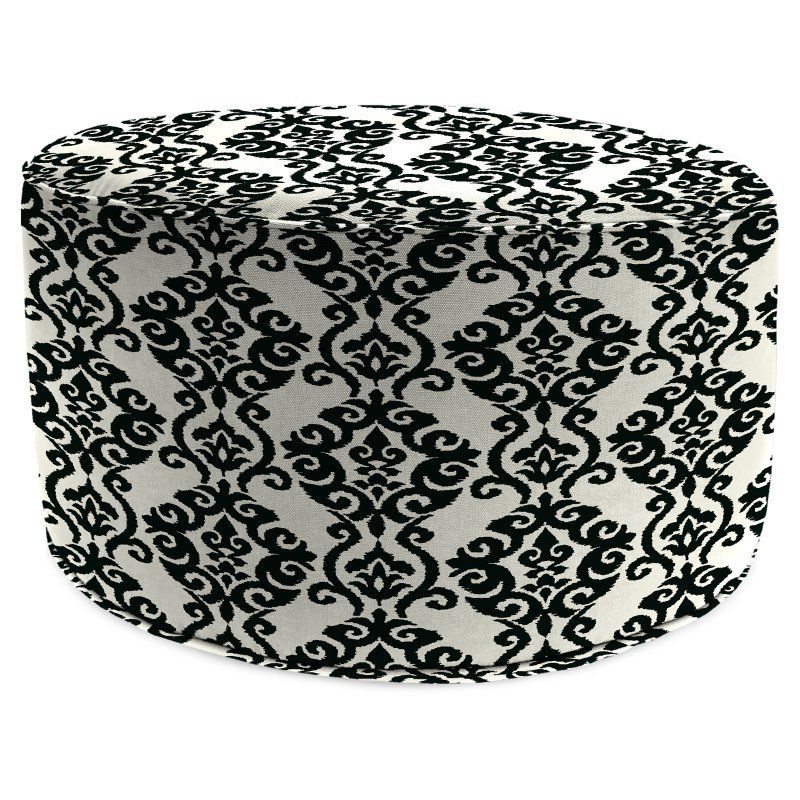 Astounding Jordan Manufacturing 24 In Round Pouf Ottoman Luminary Squirreltailoven Fun Painted Chair Ideas Images Squirreltailovenorg
