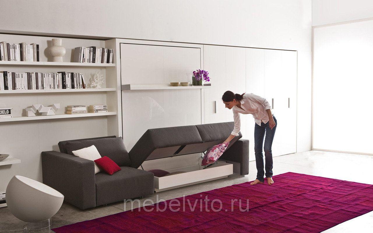 шкаф диван кровать трансформер Premier хочу здесь побывать