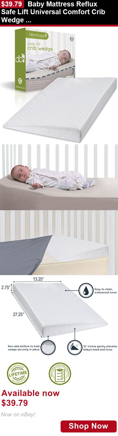 Baby Safety Sleep Positioners Mattress Reflux Safe Lift Universal Comfort Crib Wedge Positioner BUY IT NOW ONLY 3979