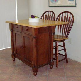 Sunset Trading 22-in L x 42-in W x 36-in H Nutmeg and Honey ...