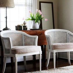 Idea For My Caned Chairs Home Decor Furniture Decor Bargain Furniture