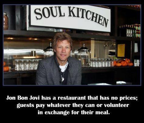 Soul Kitchen, Jon Bon Jovi\'s Charity Restaurant (New Jersey, USA ...