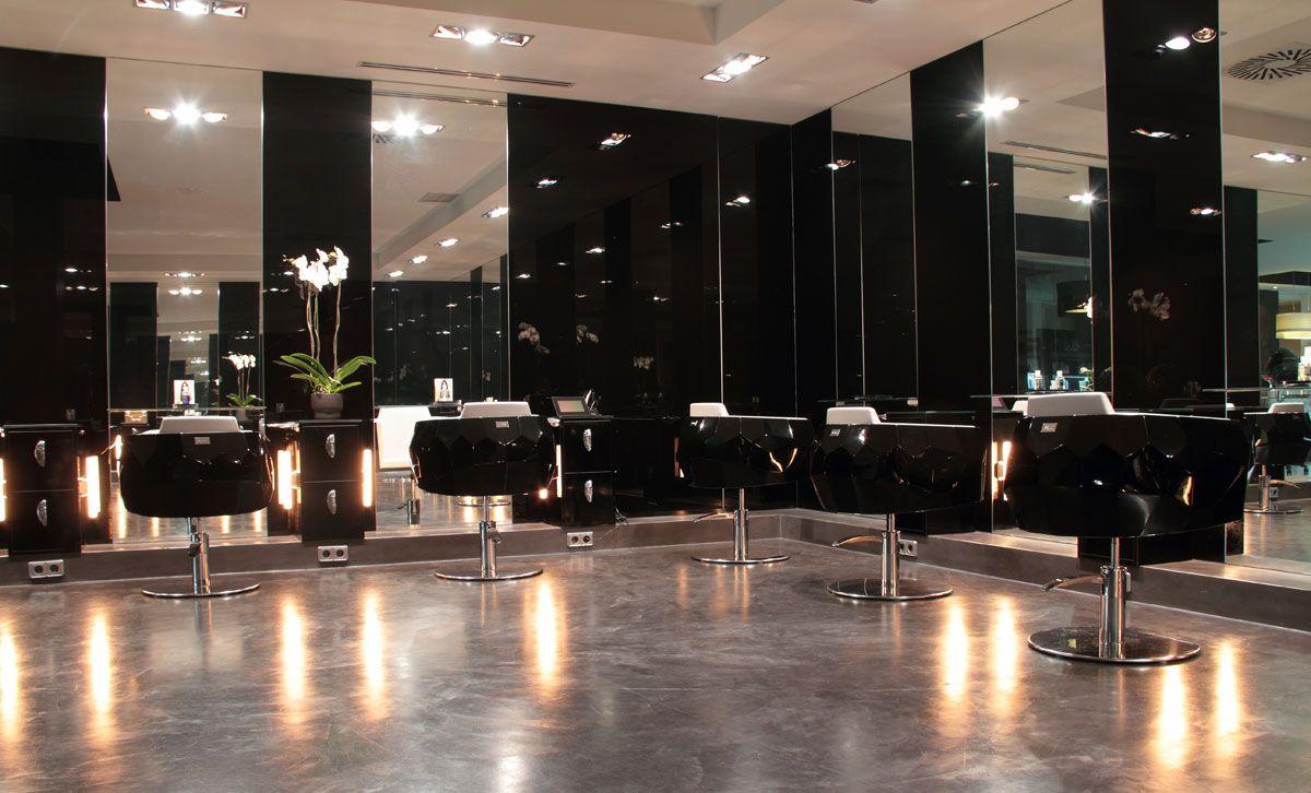 Hair salon gl gloria lara peluquerias salon design salontrends beauty salon gallery - Salon desing ...
