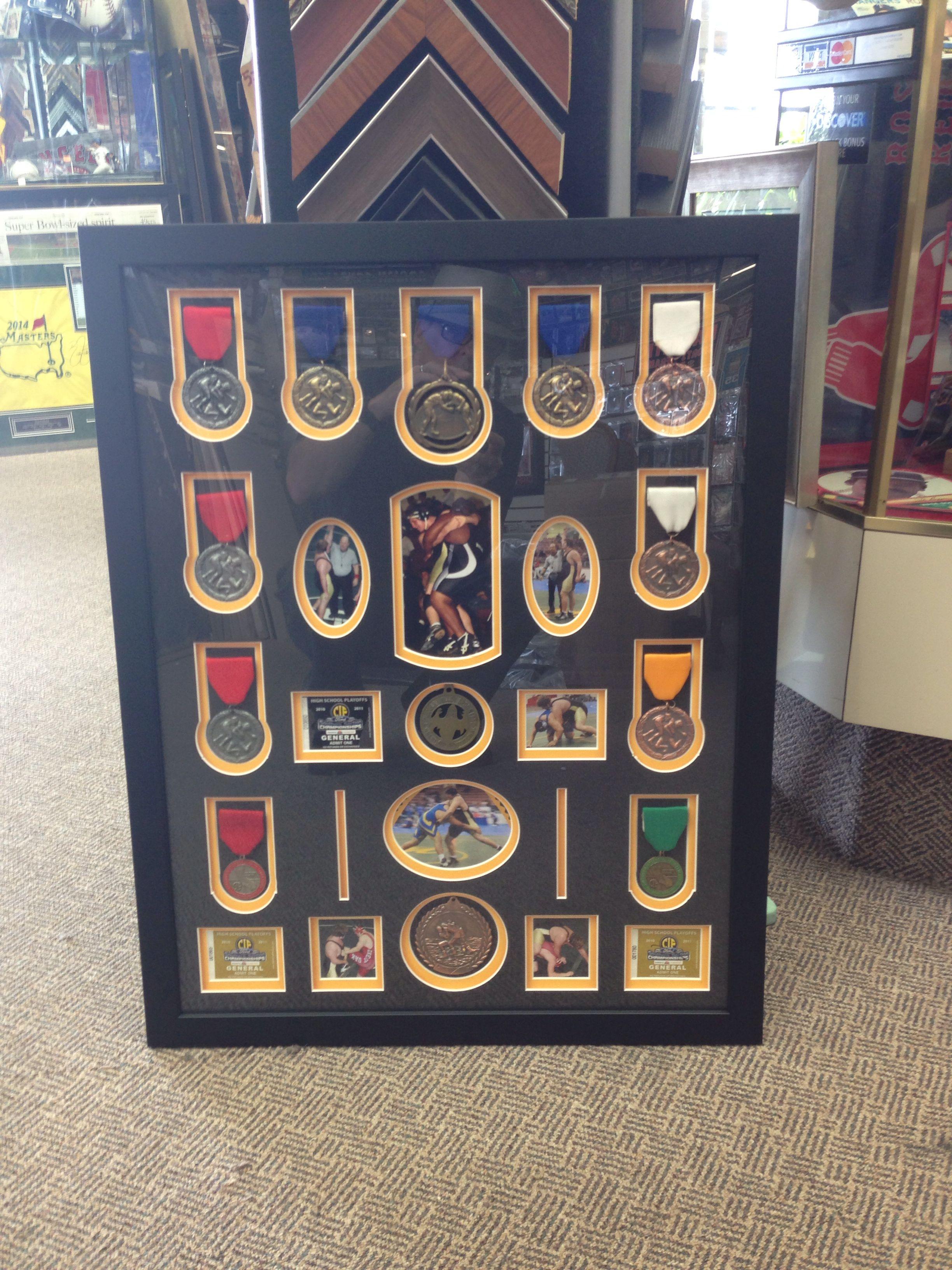 Wrestling Room Design: Award Display, Medal Display