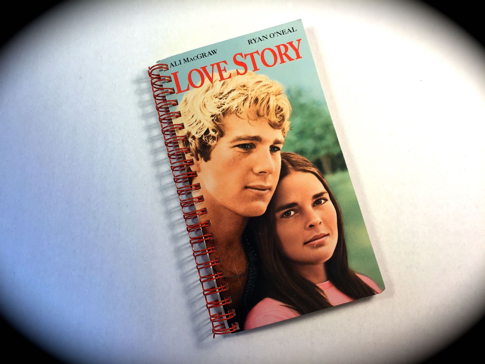 Love Story VHS Movie notebook