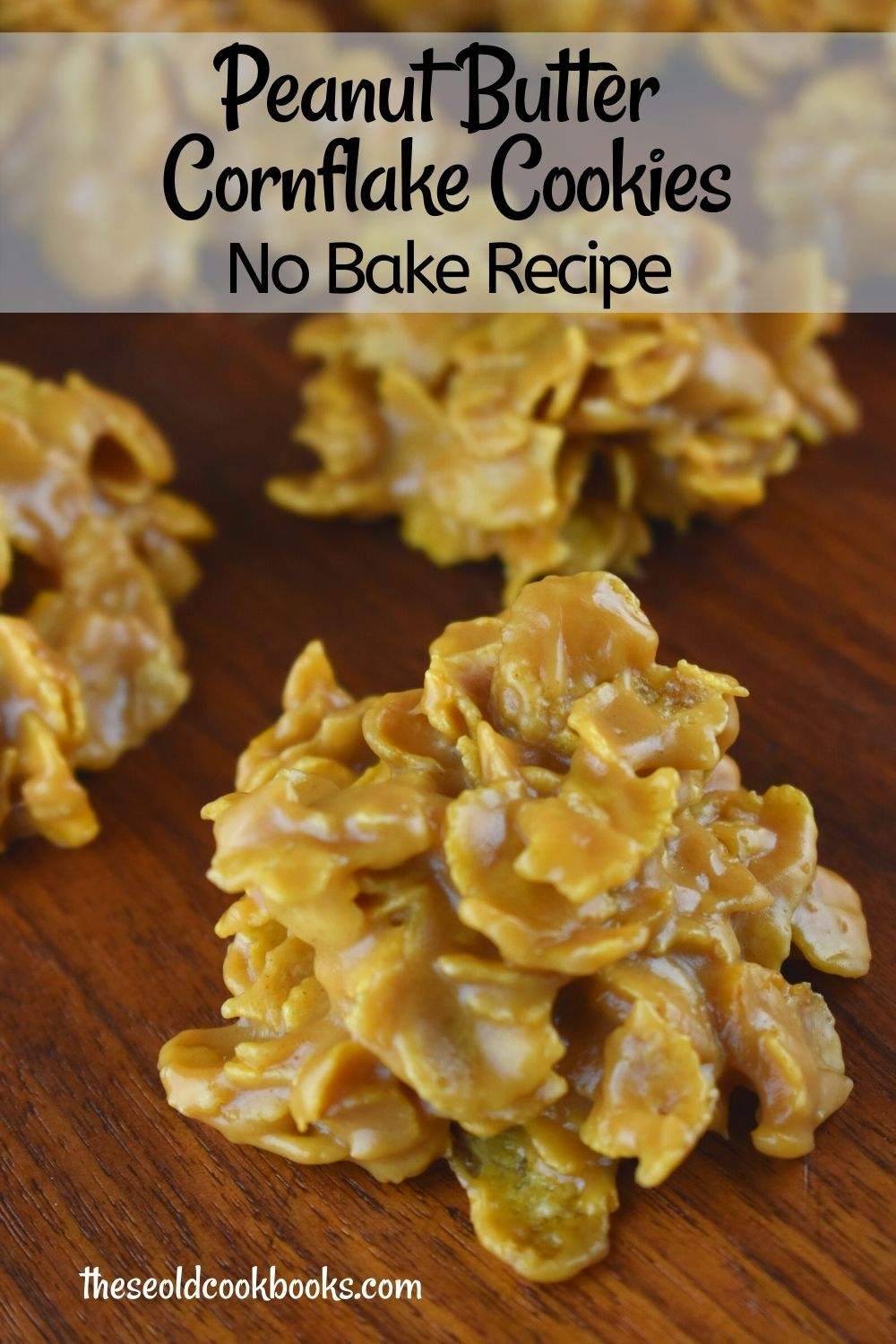 Peanut Butter Cornflake Drop Cookies Recipe - Thes