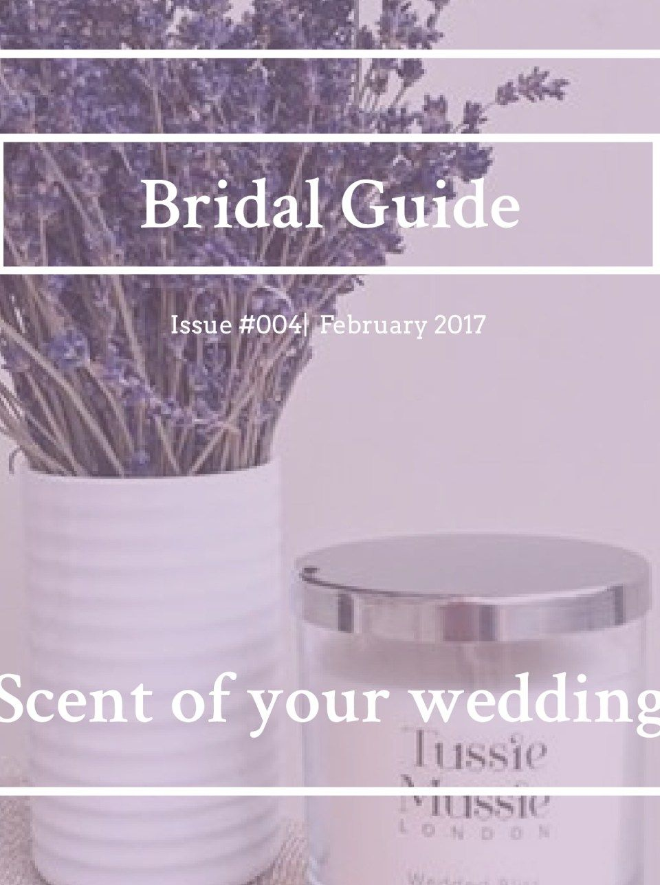 Bridal Guide- Scent of a Wedding - Cover