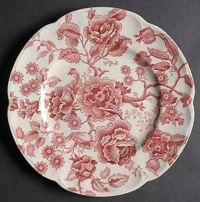 Johnson Brothers ENGLISH CHIPPENDALE RED PINK Dinner Plate S276139G3