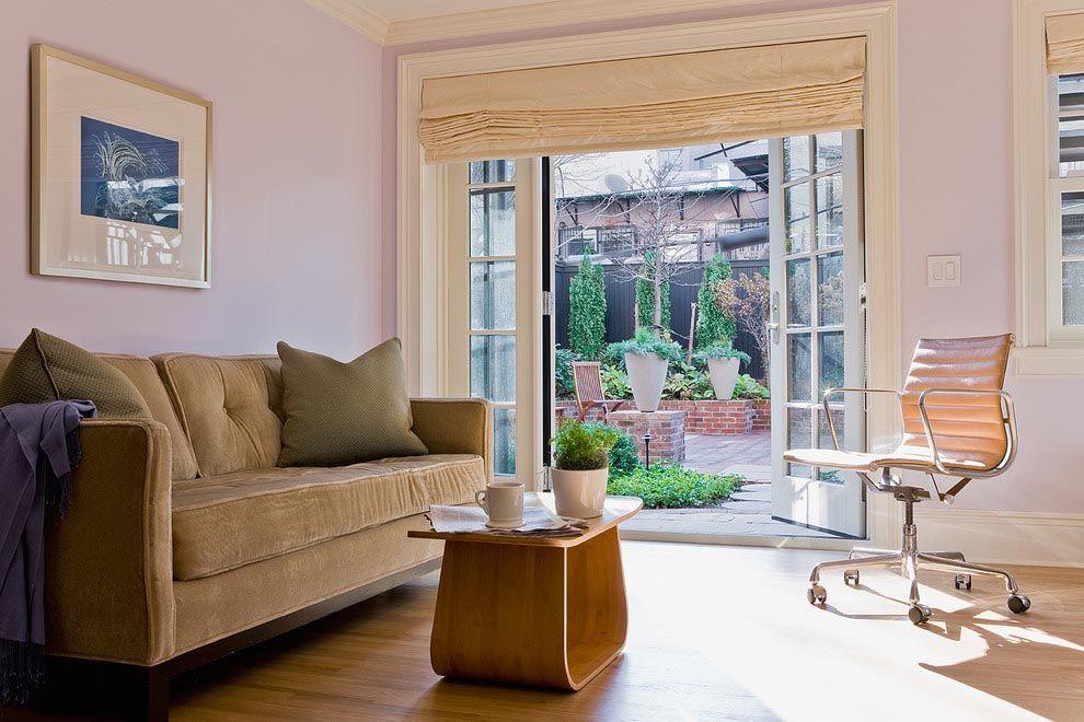 Sliding Glass Door Roman Shades Window Shades Pinterest