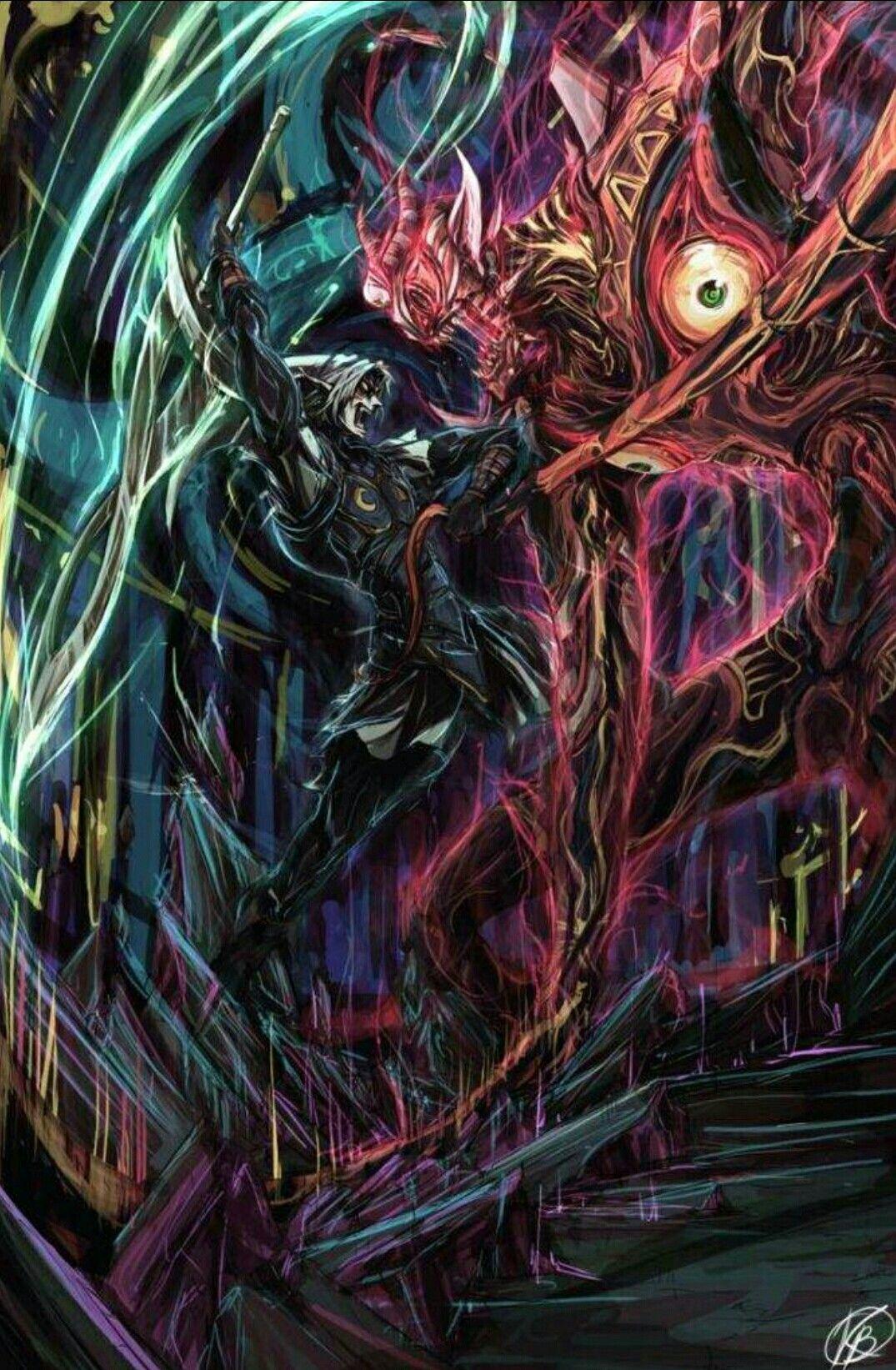Fiera deidad vs mago de majora | Nintendo | Pinterest | Deidades ...