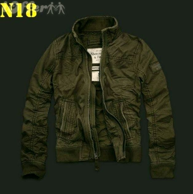 589f27a49a7f Abercrombie   Fitch Men s jacket AF jacket s-xl. Forest Green ...