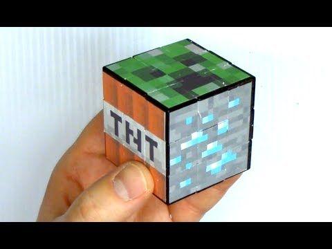 Beautiful Make A Minecraft Rubiku0027s Cube Puzzle   YouTube Great Ideas