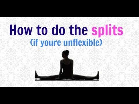 how to get middle splits in one day  youtube  how to do