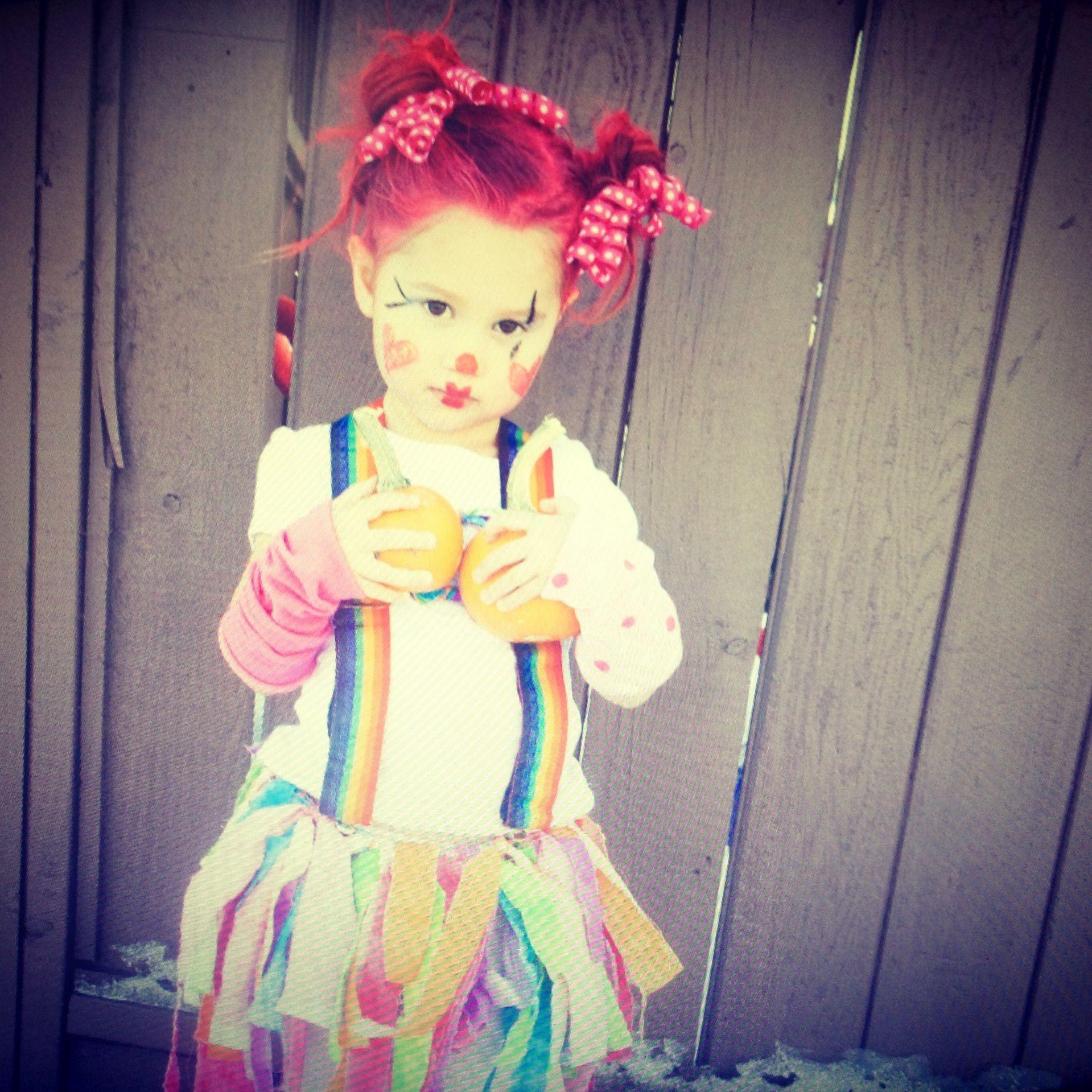 halloween 2013 little girl clown costume little girl costume - Girl Clown Halloween Costumes