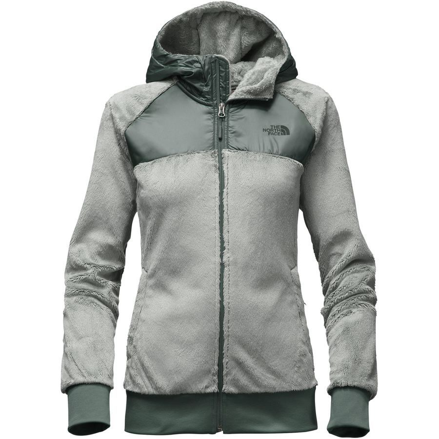 e2bab181c2 The North Face - Oso Hooded Fleece Jacket - Women s - Wrought Iron Balsam  Green