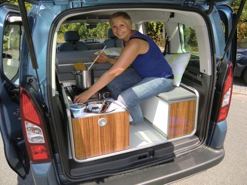 camping module for smaller vans other vans mini. Black Bedroom Furniture Sets. Home Design Ideas