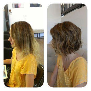 Haircut Shattered Bob And Colour Balayage By Jessica Morales At
