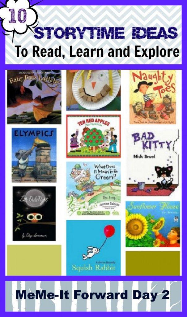 10 Storytime Ideas