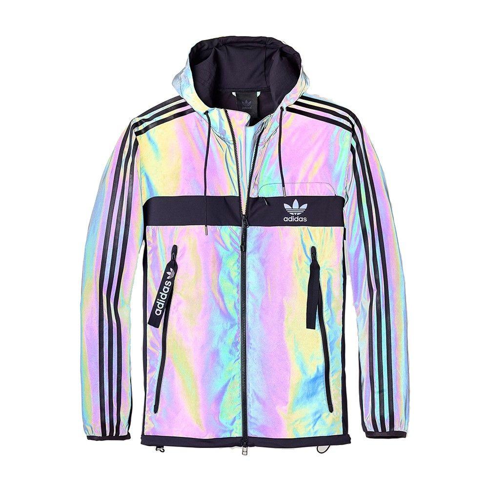 adidas multicolor jacket
