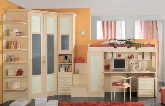 Letti A Soppalco Per Bambini : Cameretta a soppalco per ragazzi ideare casa luis