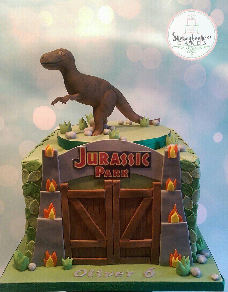 Jurassic park cake google search other pinterest cake jurassic park party and birthdays - Jurassic park builder decorations ...