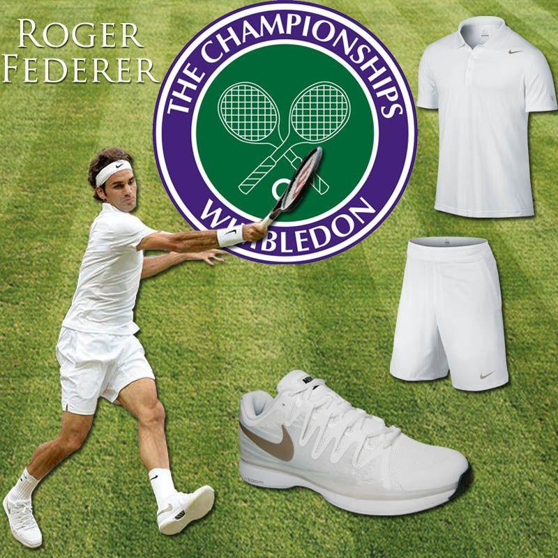Roger Federer Wimbledon Gear