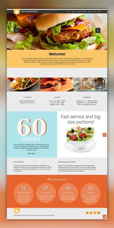 Quick Snack WordPress Theme | Pinterest