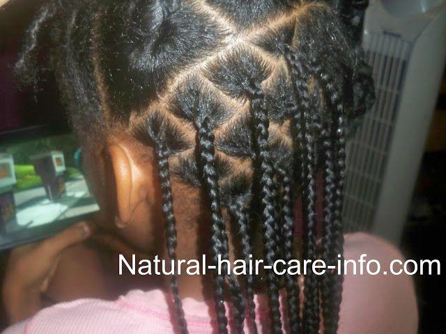 Box Braid Tutorial Natural Hair Care Info Natural Hair Styles Hair Styles Short Box Braids Hairstyles