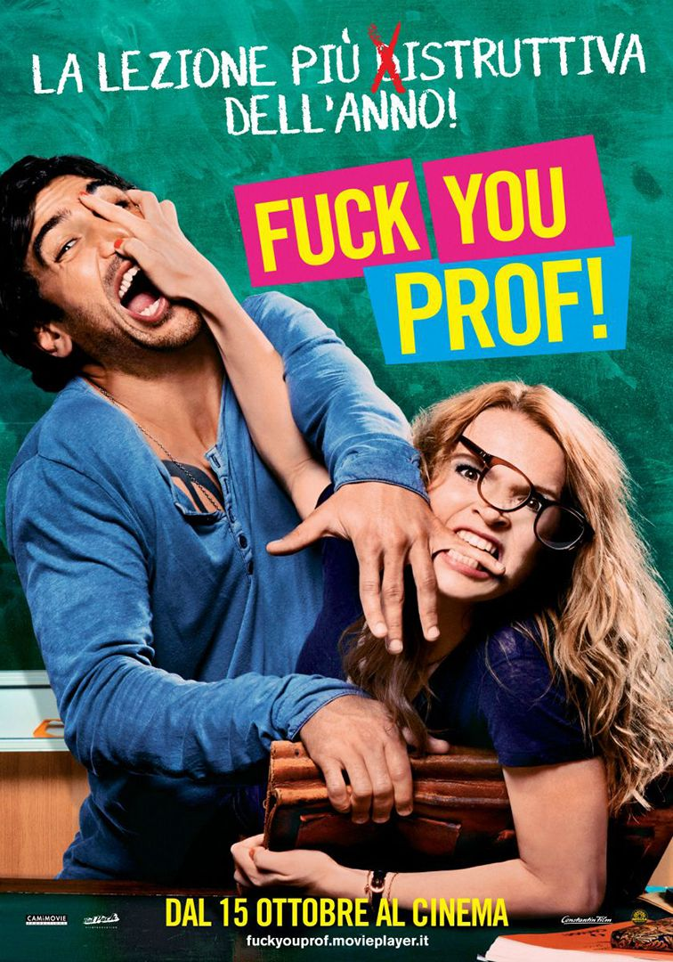 Image result for FUCK YOU PROF ( 2013 ) POSTER