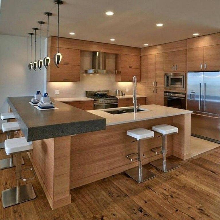 25 Admirable Modern Kitchen Design Idea Kitchens Kitchendesign Kitchendecor Littlekitchenremo Modern Kitchen Set Contemporary Kitchen Modern Kitchen Design