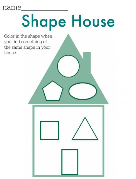shape hunt worksheet free printable free printable worksheets and activities. Black Bedroom Furniture Sets. Home Design Ideas