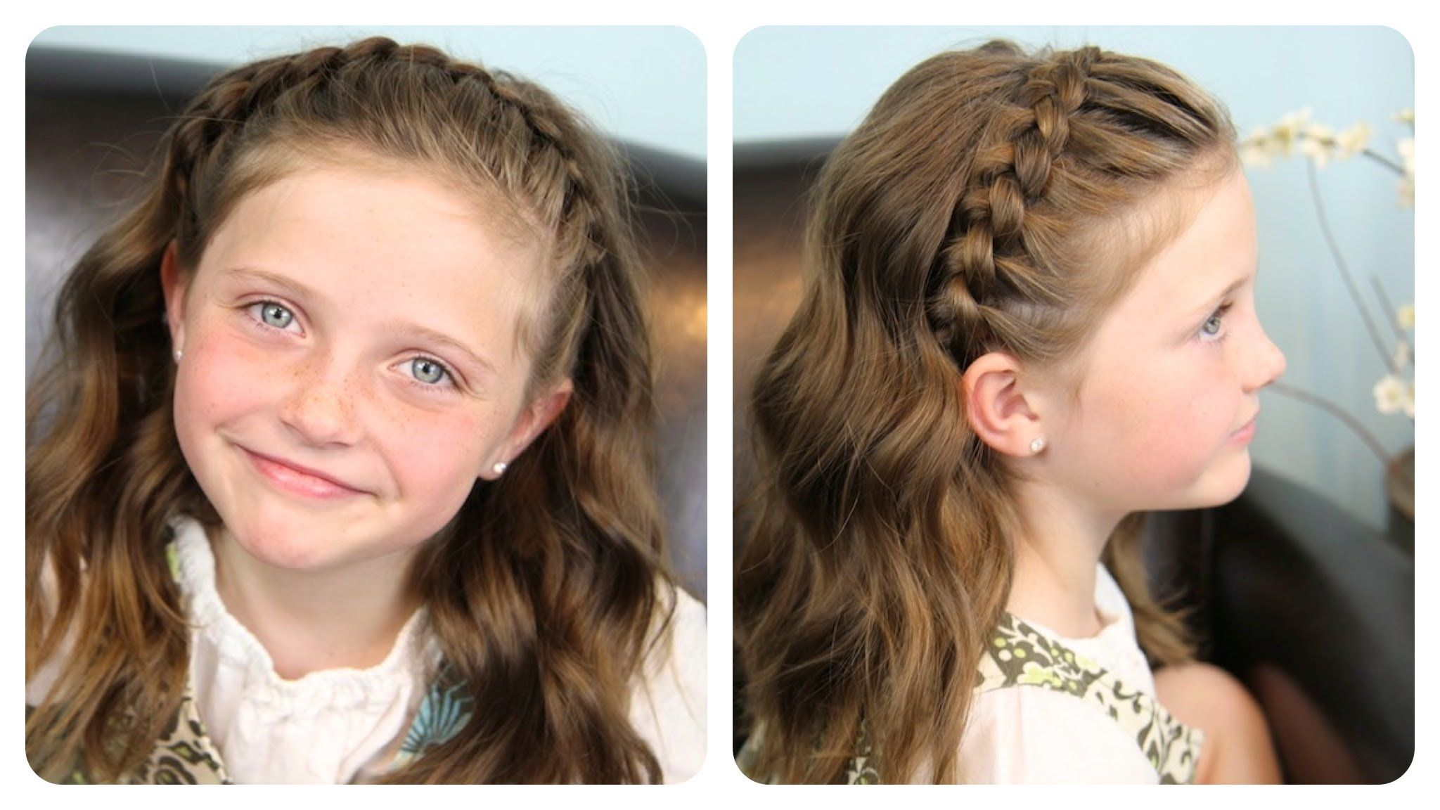 Prime 1000 Images About Cute Girls Hairstyles On Pinterest Rope Braid Short Hairstyles Gunalazisus