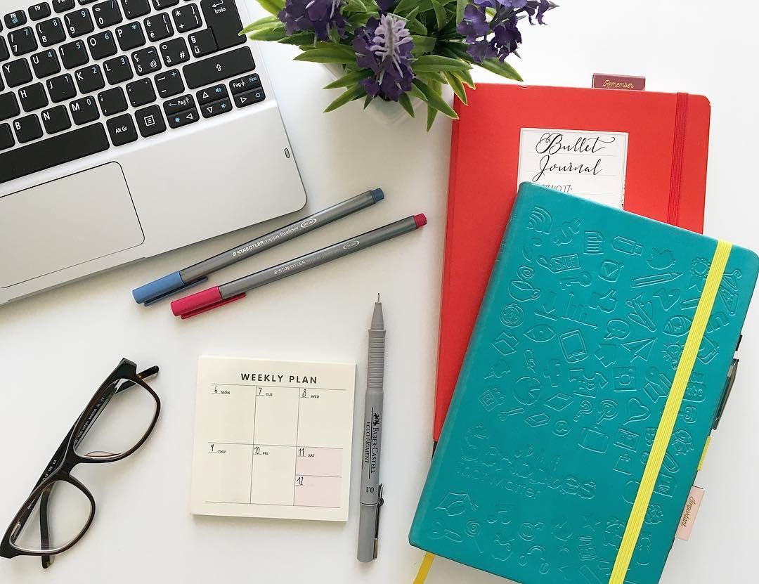 stationery planner planning