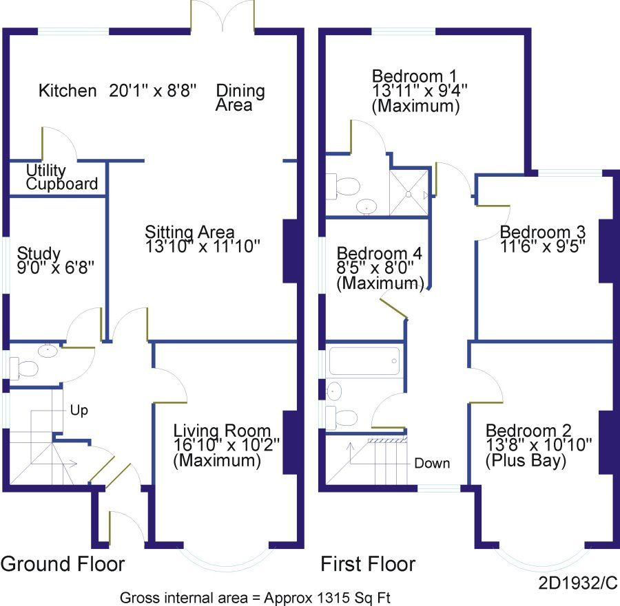 Semi Open Plan Kitchen Ideas: House Extension 1930s Semi - Google Search