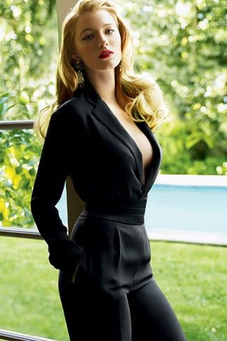 Blake Lively in Vogue #blakelively