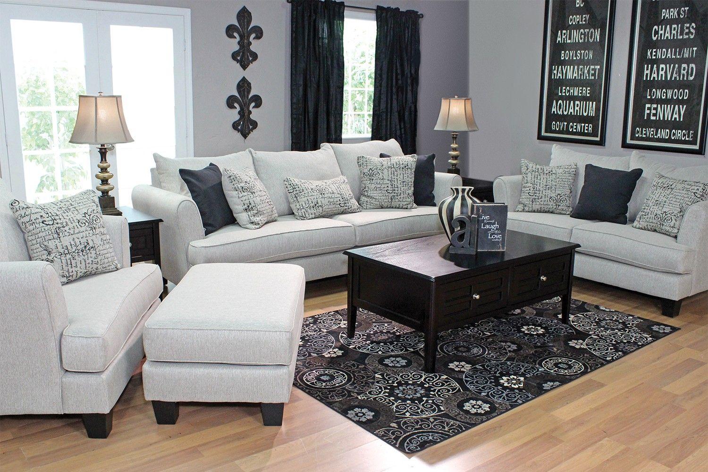 Mor Furniture For Less The Rachael Omega Living Room In