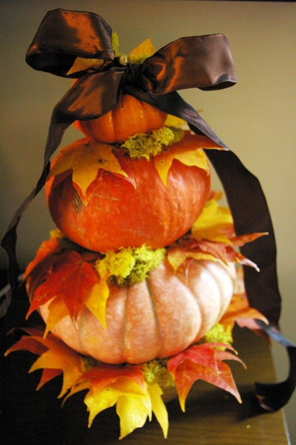 Pumpkin Topiary Ideas Part - 47: Create A Pumpkin Topiary / Pike Nurseries