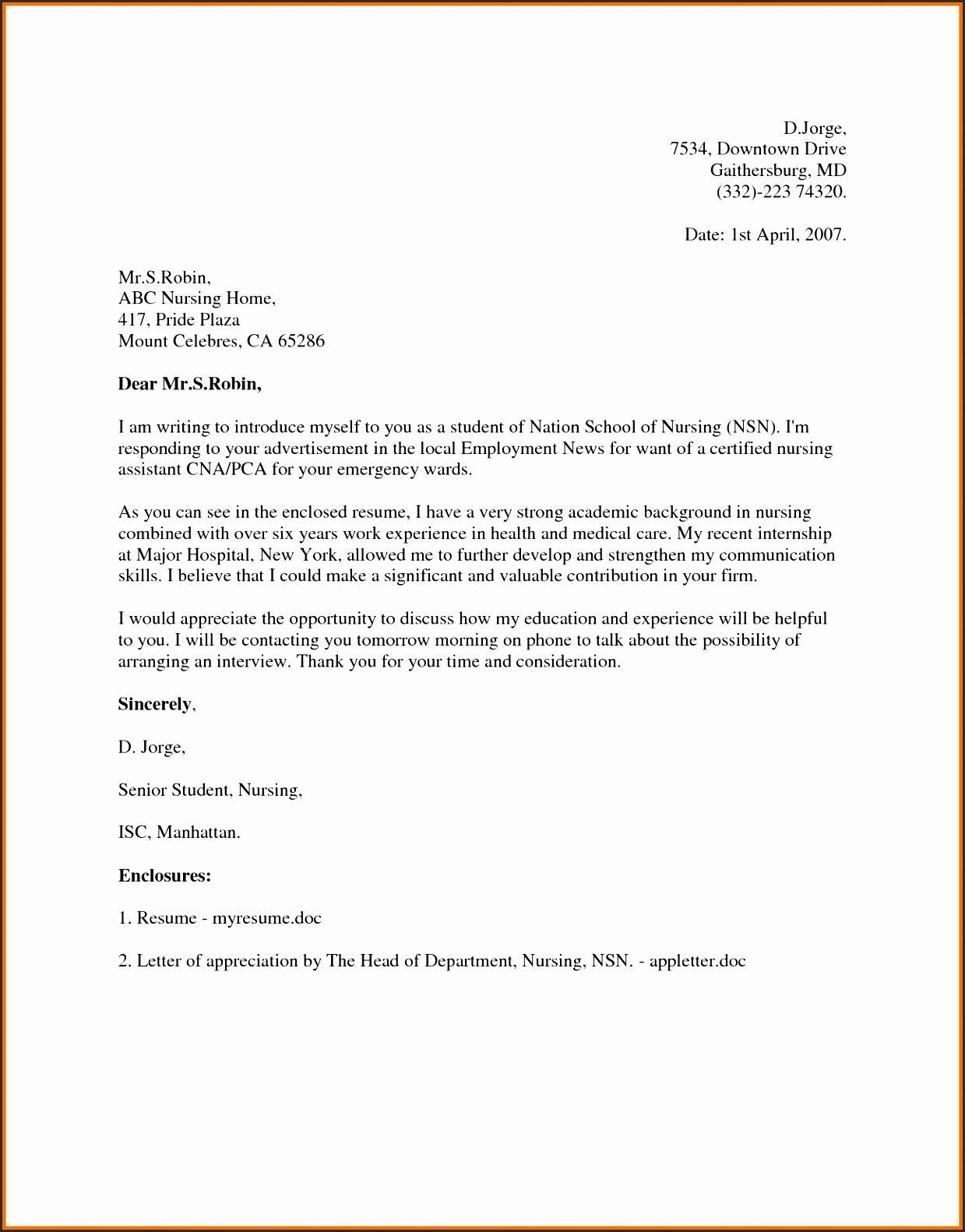 Application Letter Sample Clerk Cover